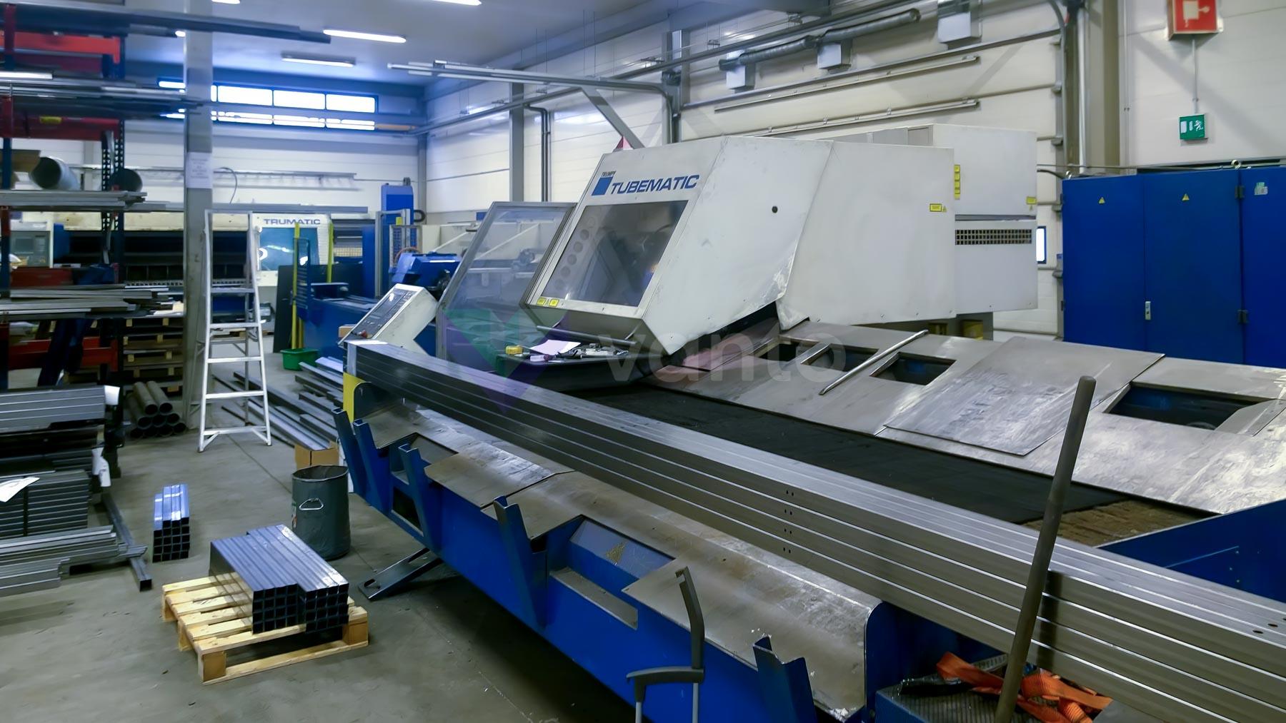 TRUMPF TUBEMATIC 5000 Laser pipe cutting machine (2004) id10429