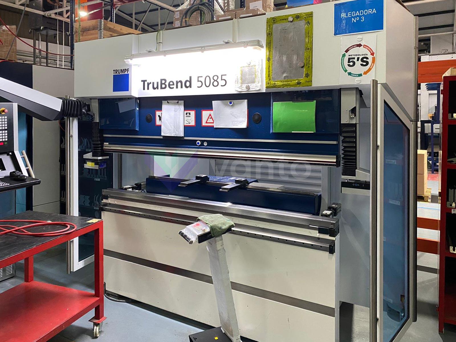 Plegadora CNC TRUMPF TruBend 5085 (2014) id10443
