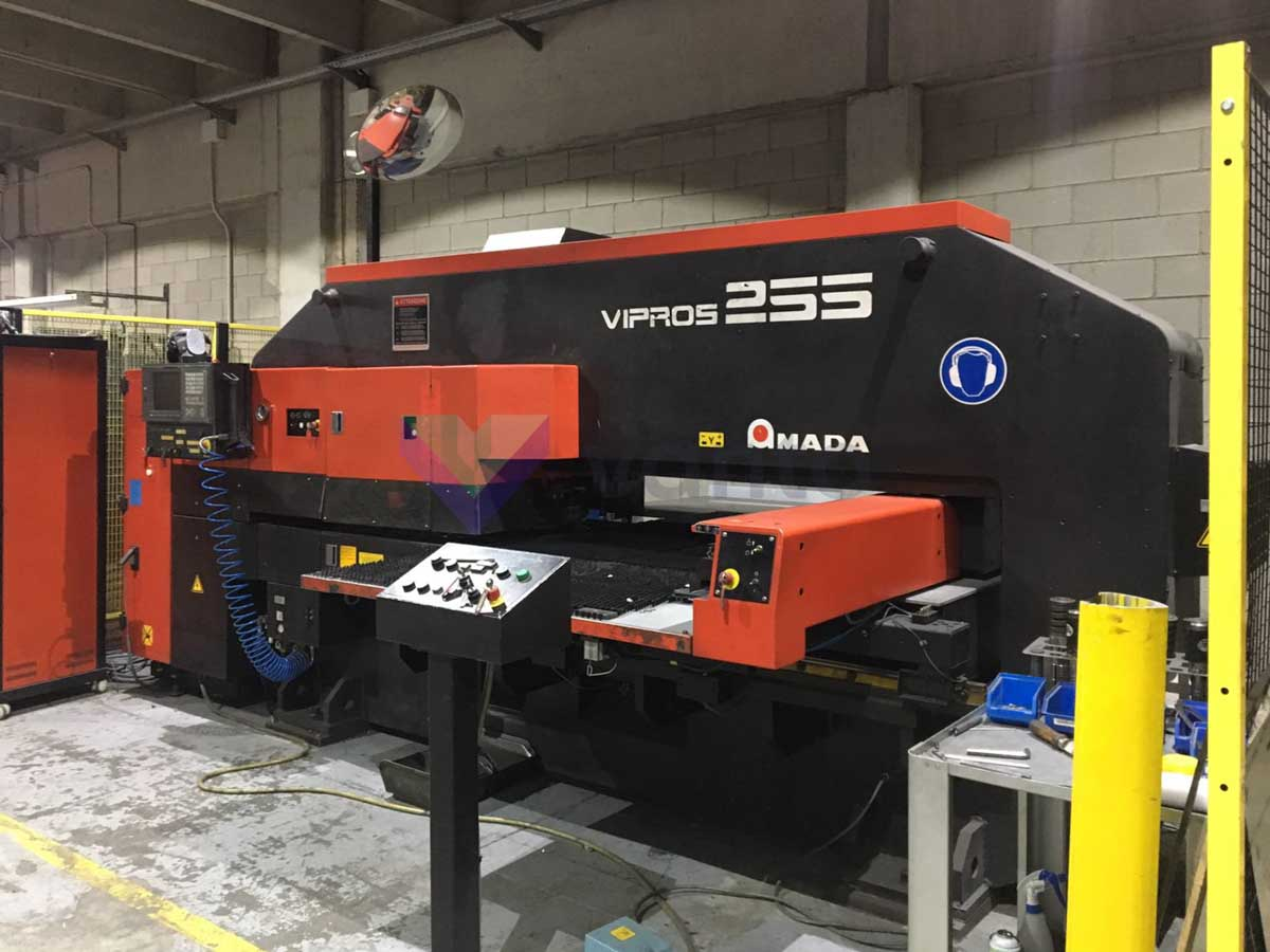 AMADA VIPROS 255 CNC punching machine (2000) id5083