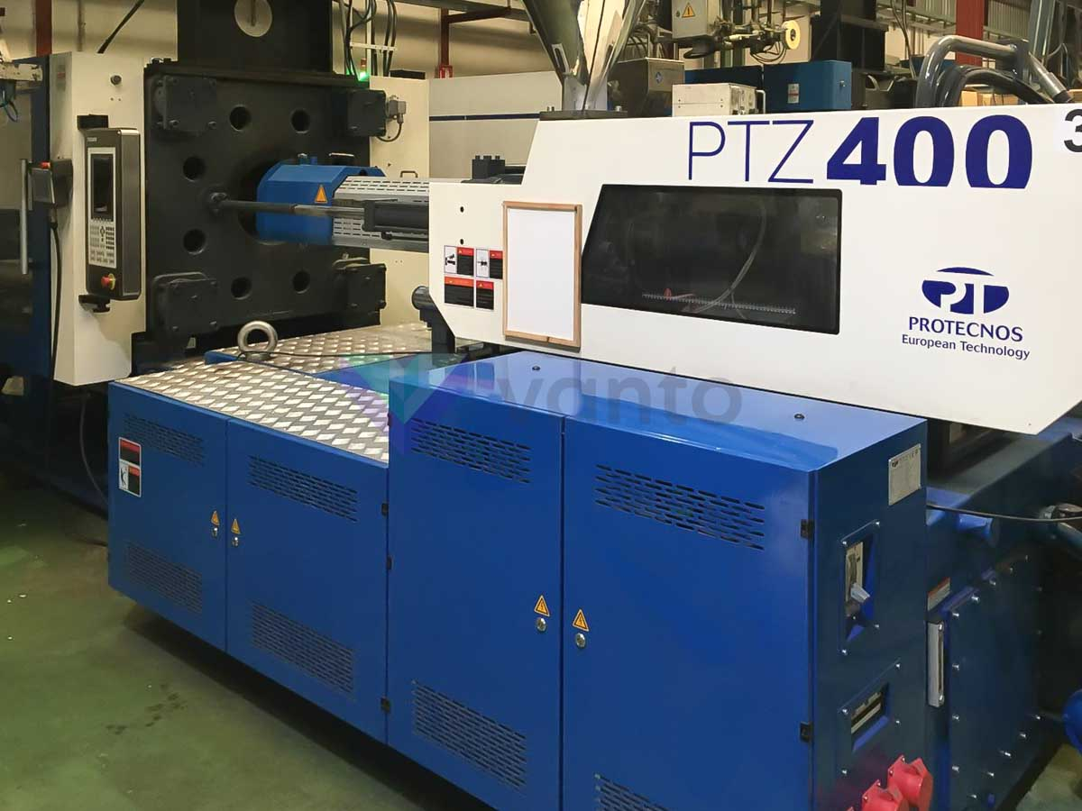 Machine de moulage par injection 400t PROTECNOS PTZ 400 (2018) id10322