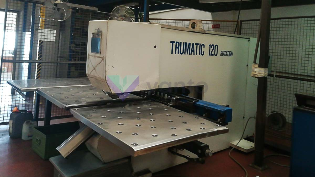 TRUMPF TC 120 R CNC punching machine (1992) id10338