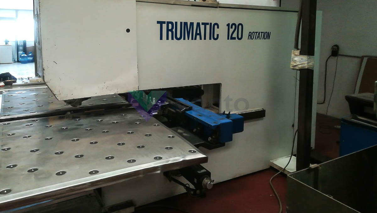 TRUMPF TC 120 R CNC punching machine (1991) id10337