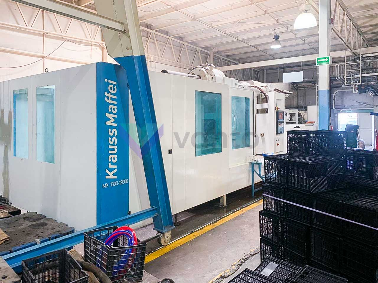 KRAUSS MAFFEI KM 1300-12000 MX Injection molding machine 1300t (2010) id10364