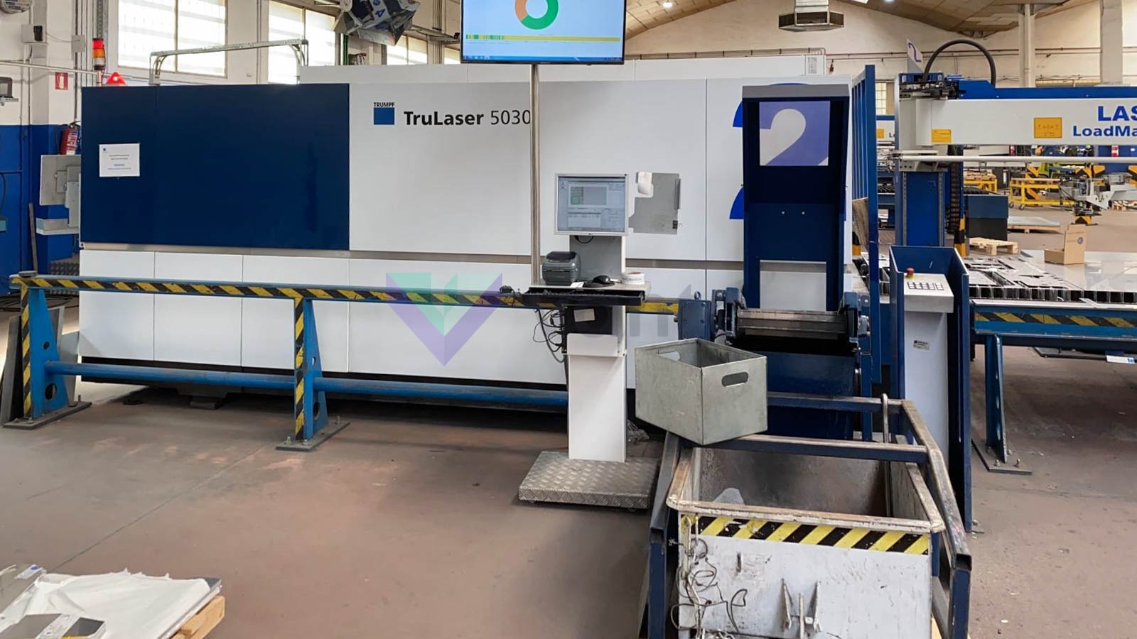 TRUMPF TruLaser 5030 Laser cutting machine (Fiber) (2015) id10372