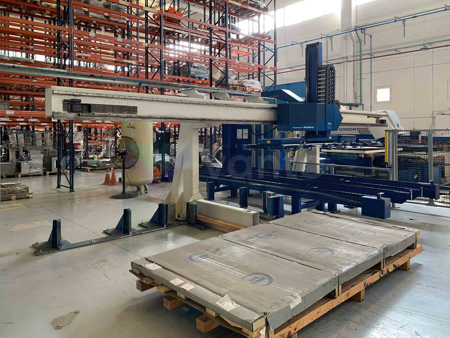 TRUMPF TRUMATIC 5000R CNC punching machine (2007) id10521