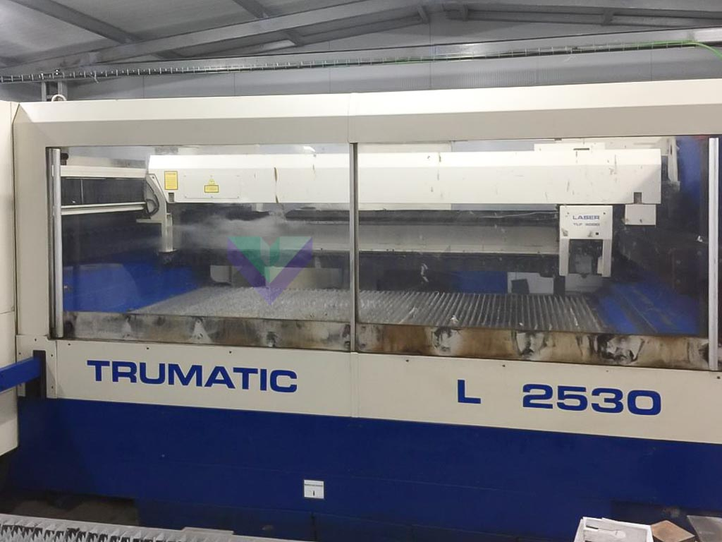 TRUMPF TRUMATIC L2530 Laser cutting machine (CO2) (2000) id10433