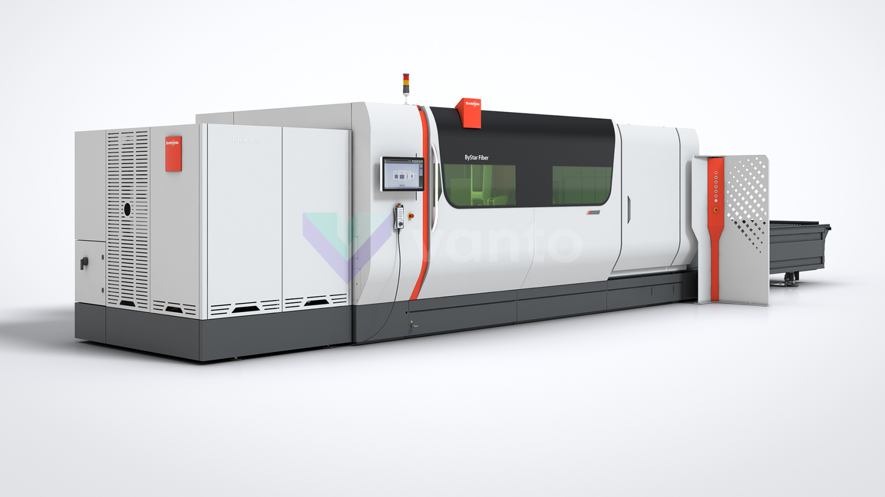 BYSTRONIC ByStar fiber 3015 Laser cutting machine (Fiber) (2018) id10424