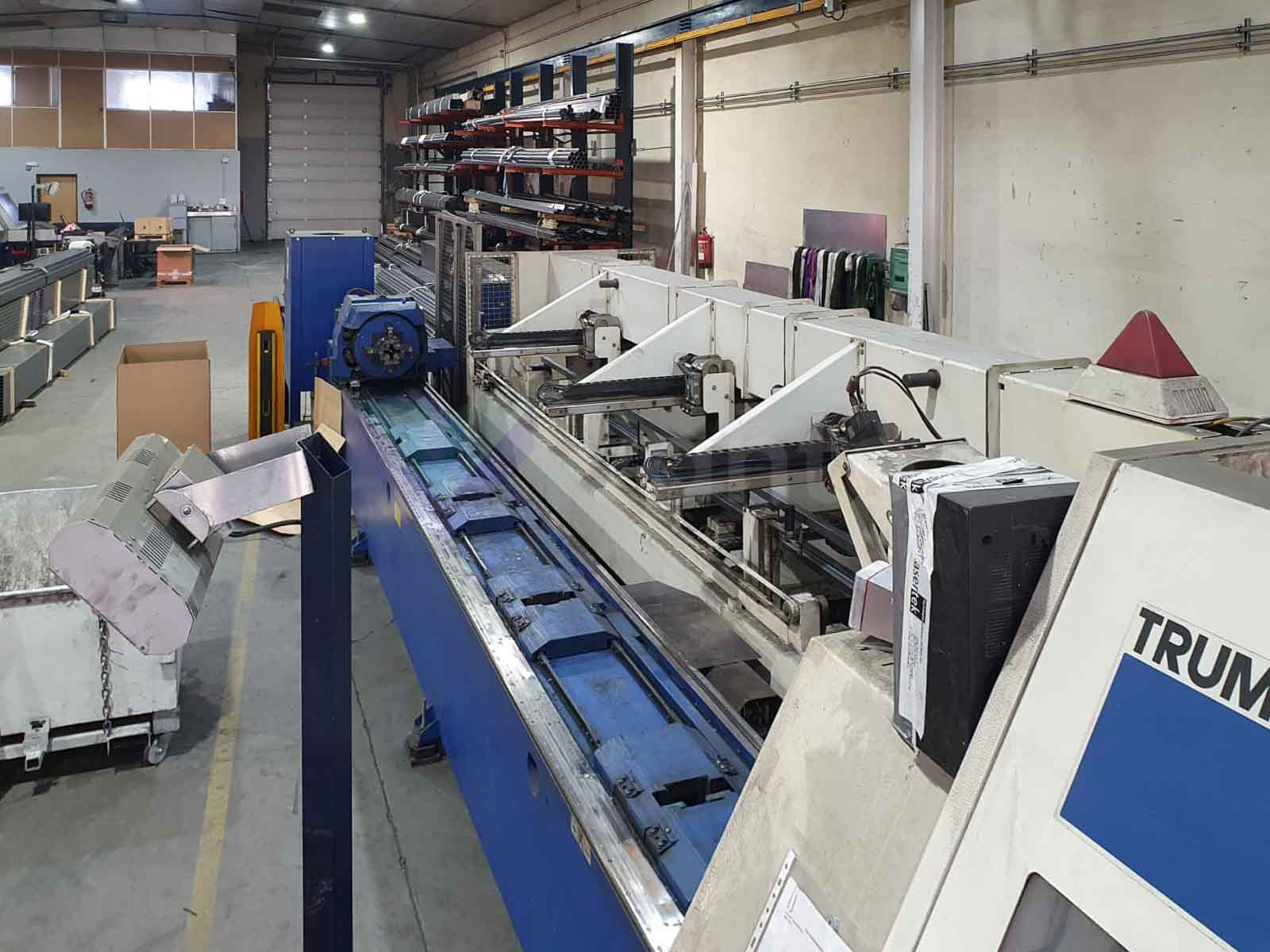 TRUMPF TUBEMATIC 5000 Laser pipe cutting machine (2005) id10499