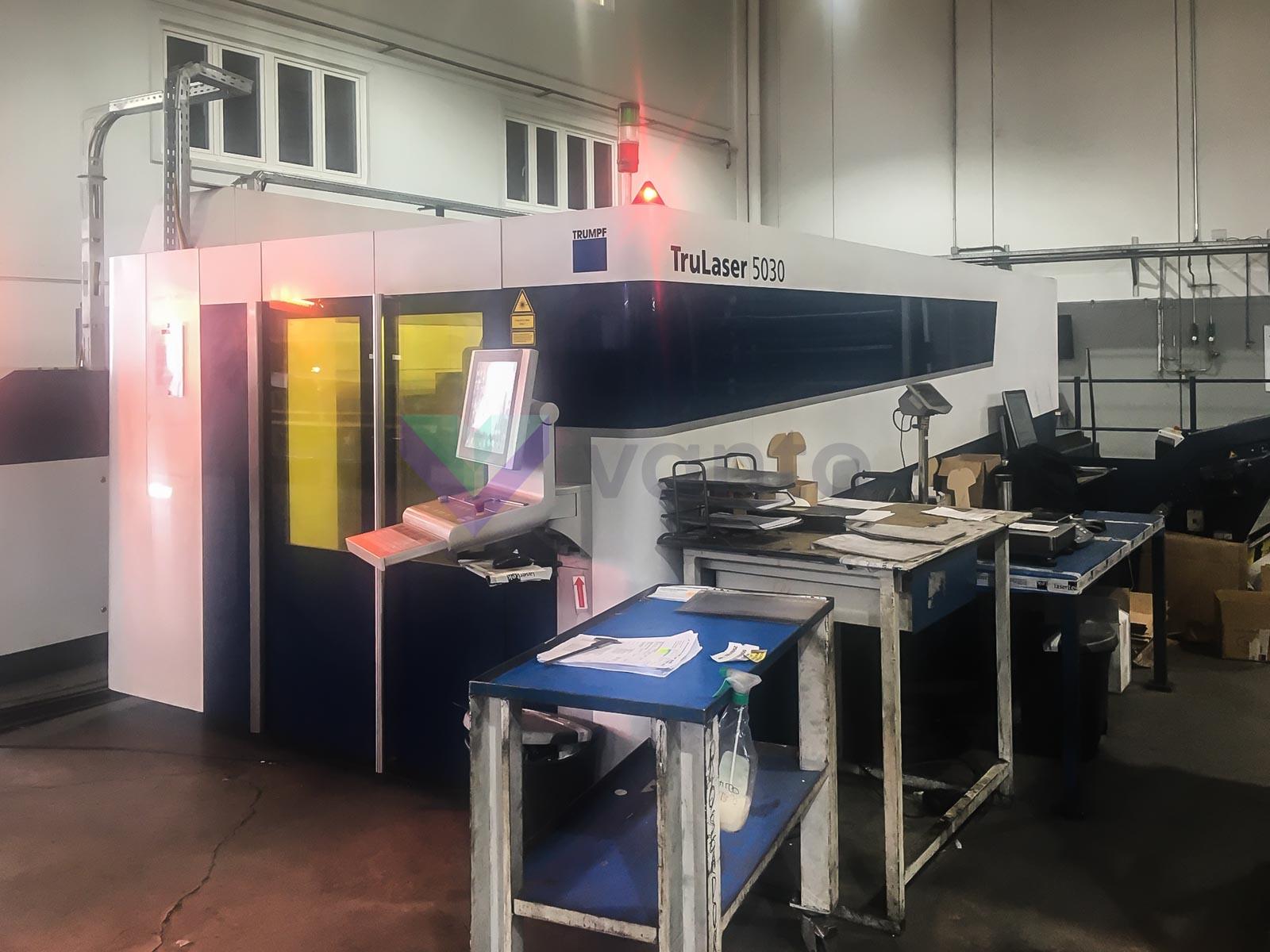 TRUMPF TruLaser 5030 fiber Laser cutting machine (Fiber) (2014) id10423