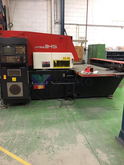 AMADA ARIES 245 CNC punching machine (2000) id10442