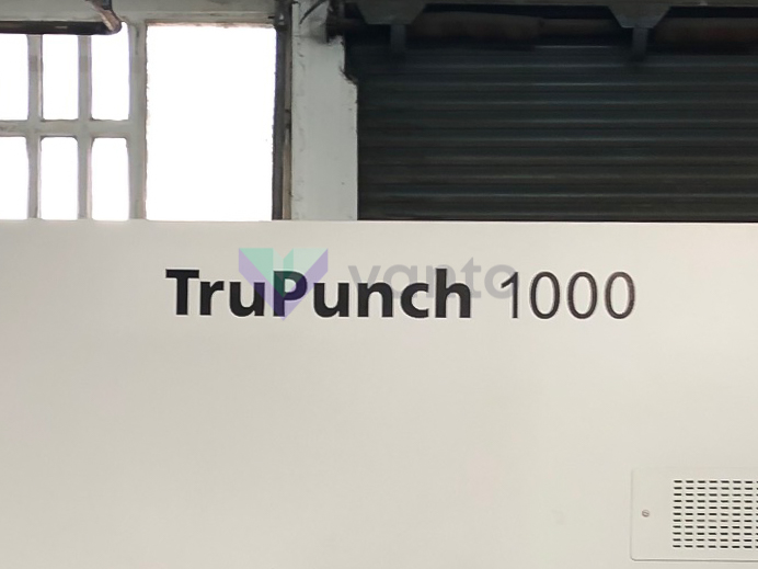 Poinçonneuse CNC TRUMPF TruPunch 1000 (2018) id10441