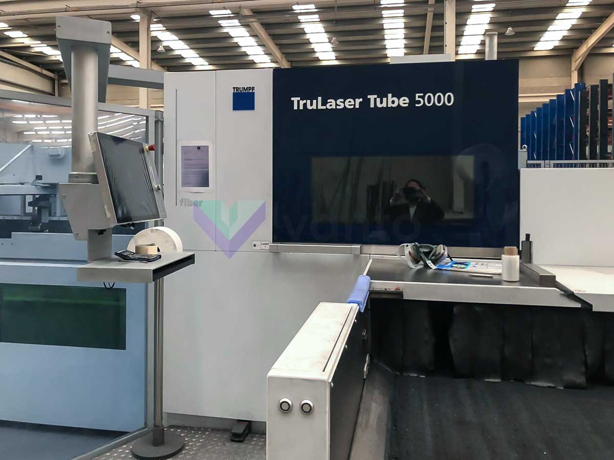 TRUMPF TruLaser Tube 5000 fiber Laser pipe cutting machine (2017) id10420