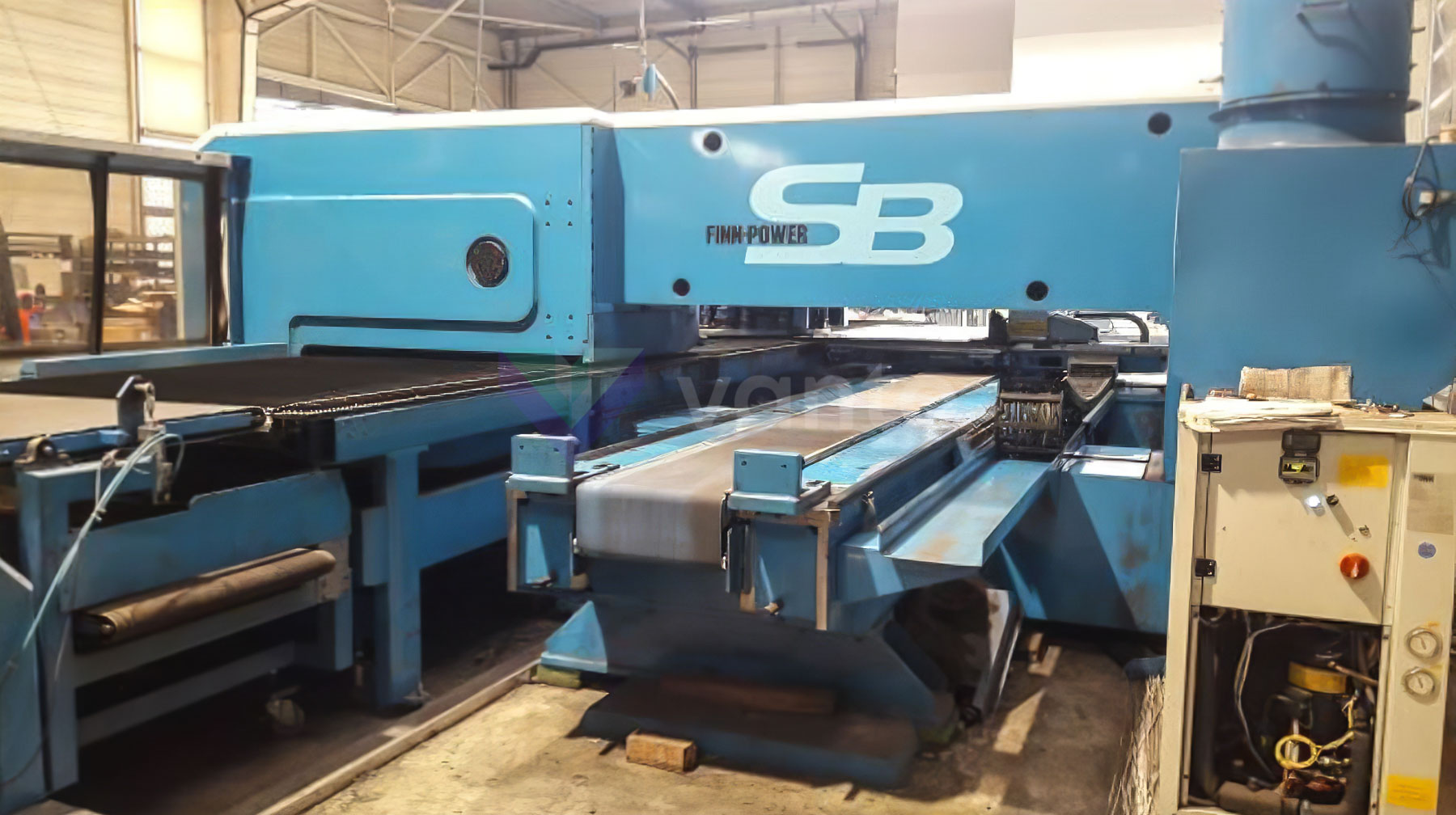 Punzonadora CNC FINN POWER Shear Brilliance SB6 (2002) id10446