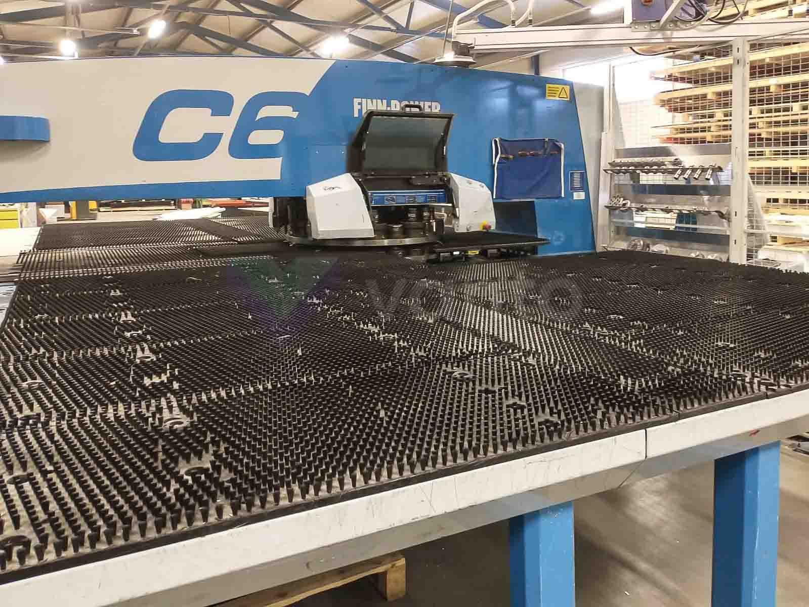 FINN POWER C6 CNC-Stanzmaschine (2008) id10500