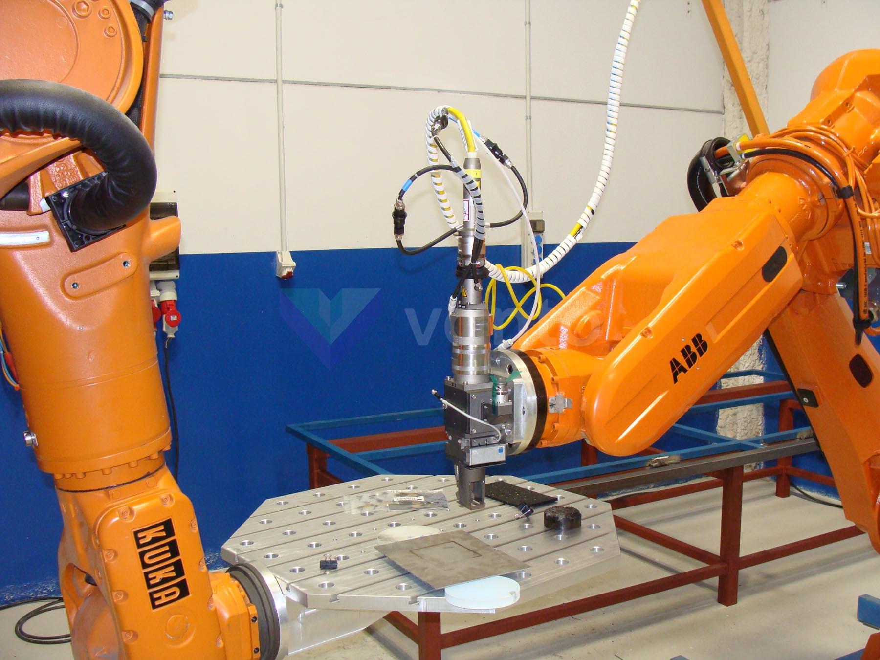 ABB IRB 6620 Robotic welding cell (2009) id10452