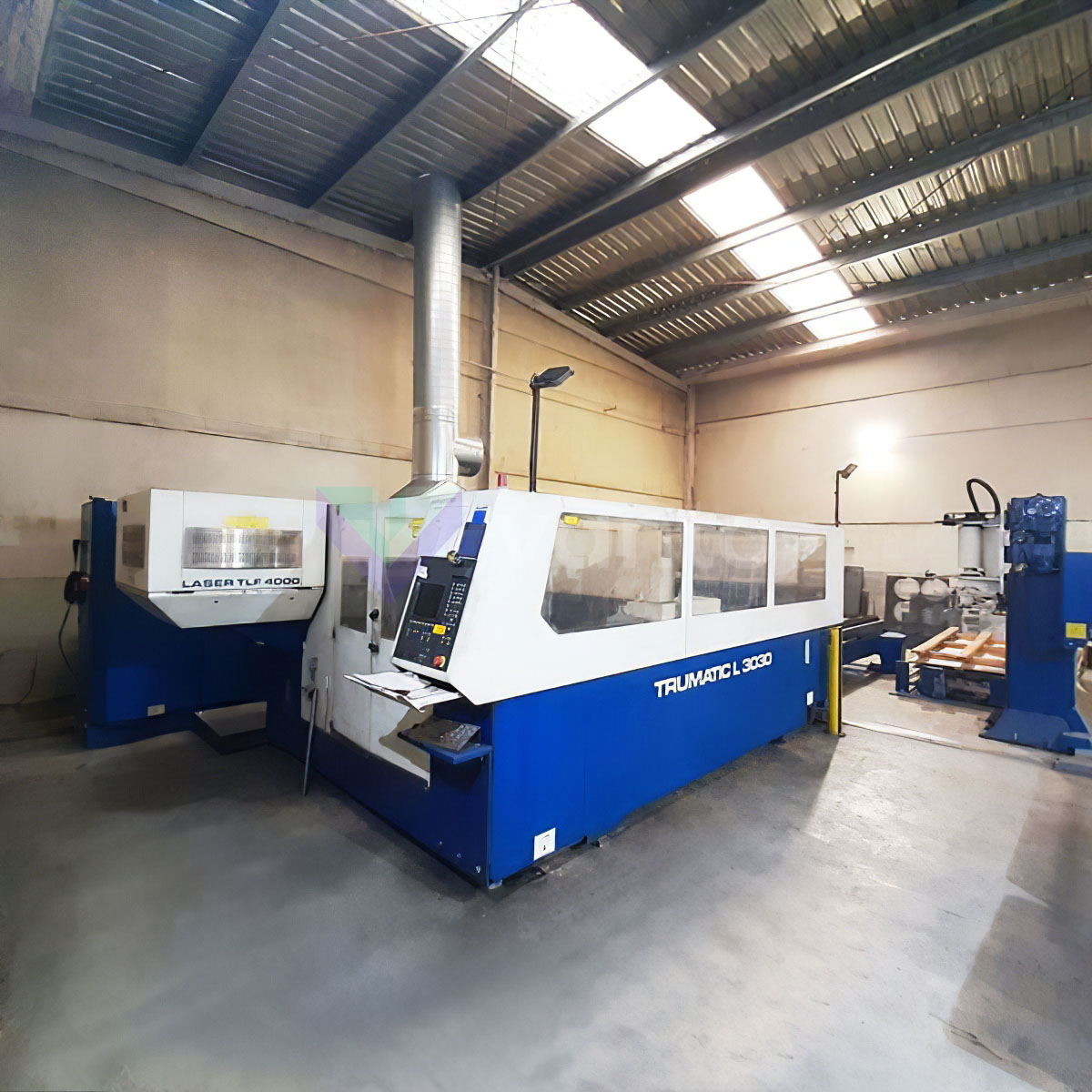 Machine de découpe laser (CO2) TRUMPF TRUMATIC L3030 (2002) id10451