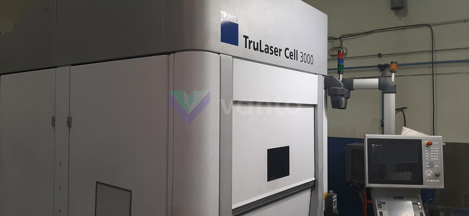Máquina de corte por láser 3D TRUMPF TruLaser CELL 3000 (2014) id10453