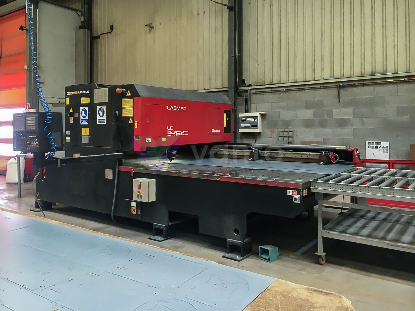 AMADA LC 2415 ALPHA III Laser cutting machine (CO2) (2005) id10457