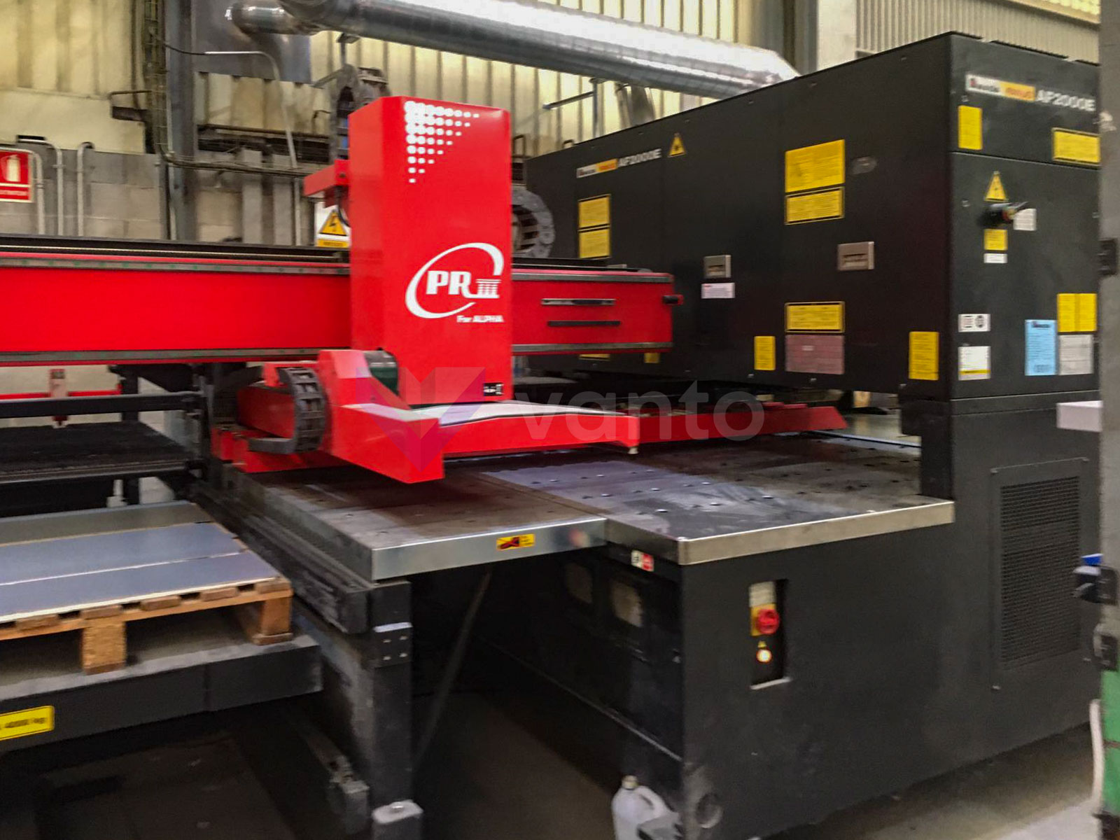 AMADA LC 2415 ALPHA III Laser cutting machine (CO2) (2005) id10458