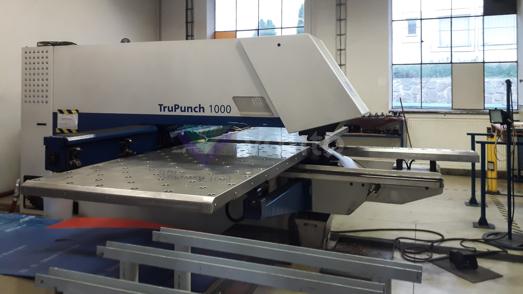Poinçonneuse CNC TRUMPF TruPunch 1000 (2007) id10459