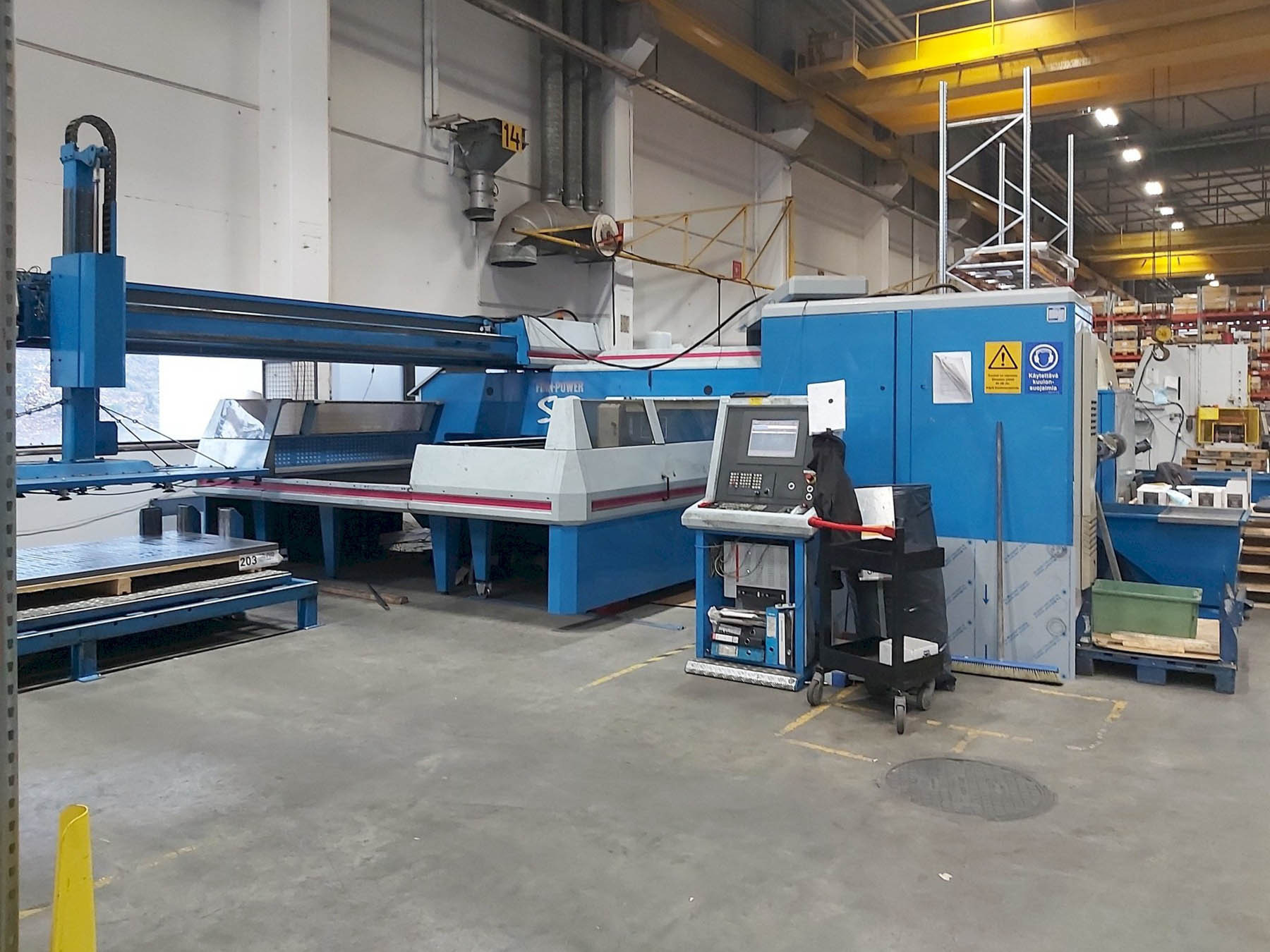 FINN POWER TRS6 CNC punching machine (2002) id10472