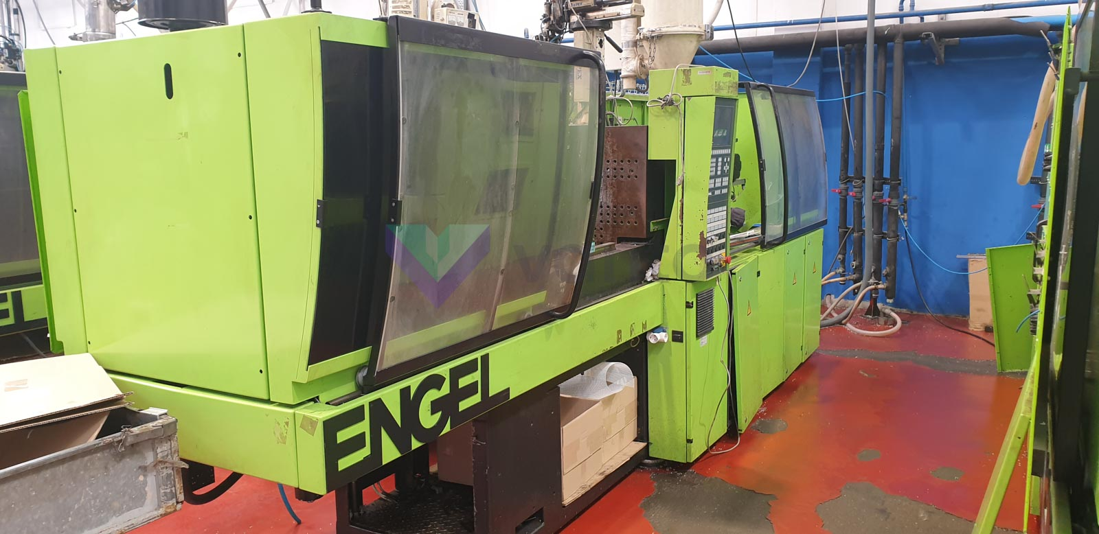 ENGEL ES 500 / 110 HL-V 110t injection molding machine (2002) id10505