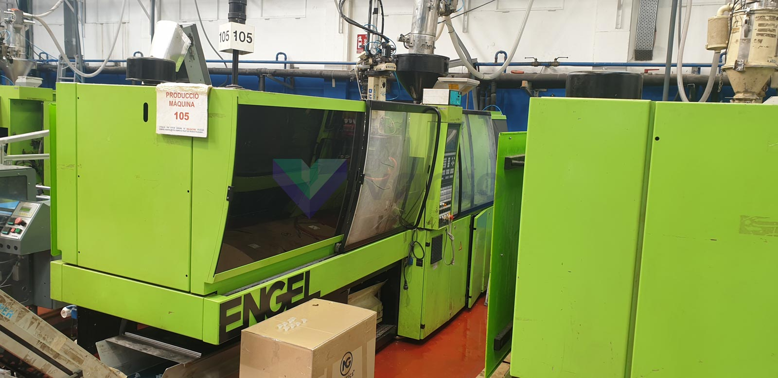 ENGEL ES 500 / 110 HL-V 110t injection molding machine (2002) id10507