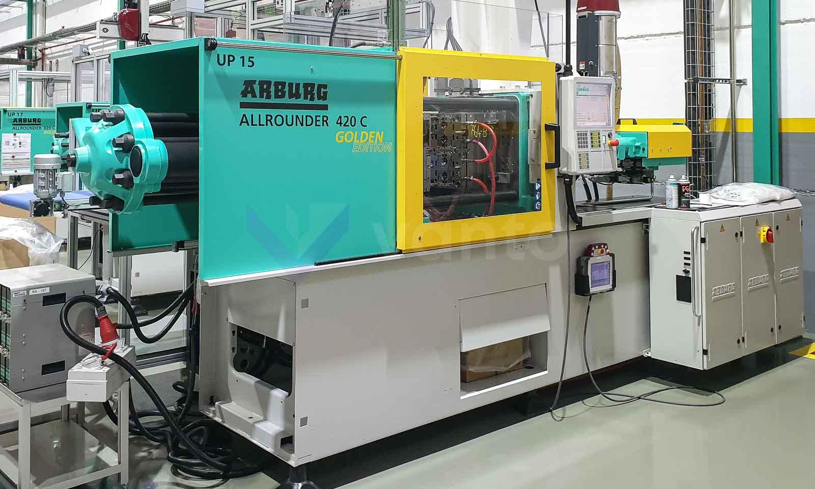 ARBURG 420C 1000 290 100t Spritzgießmaschine (2018) id10555