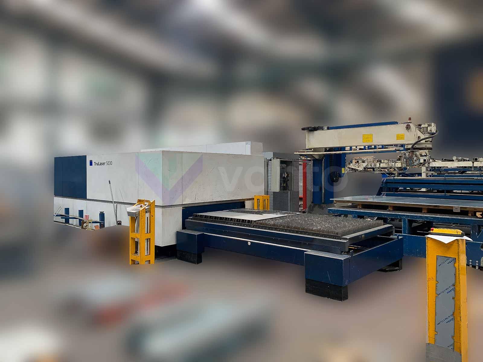 TRUMPF TruLaser 5030 fiber Laser cutting machine (Fiber) (2017) id10548