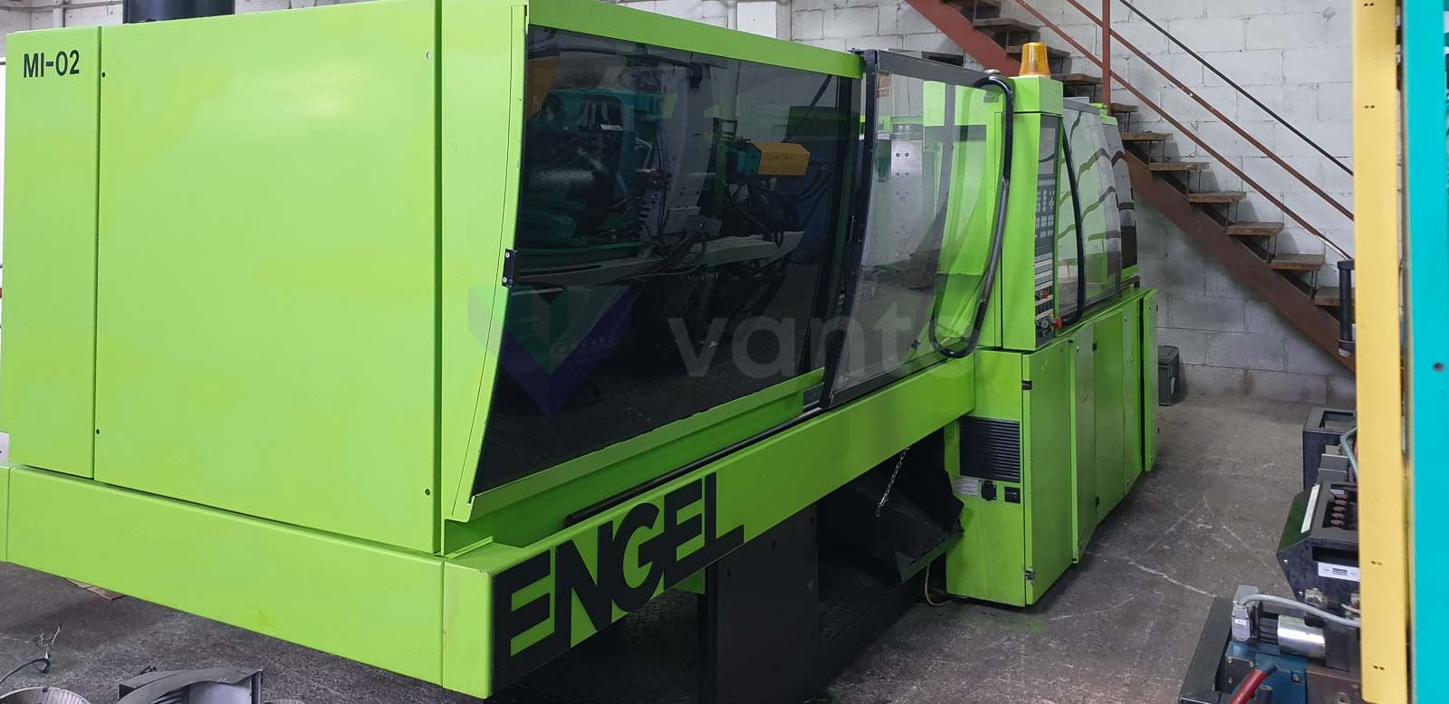 Machine de moulage par injection 125t ENGEL ES 500 / 125 HL-V (1999) id10563