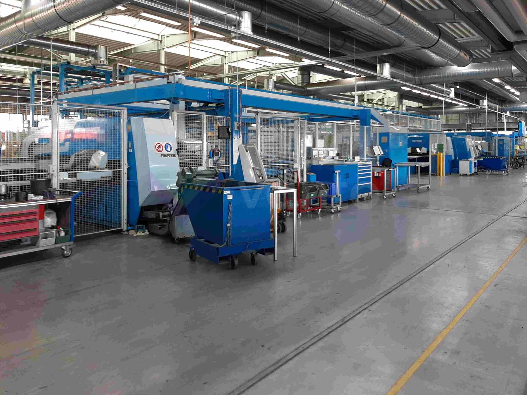FINN POWER SG EB LP Express Bender Punching shearing and sheet metal folding line (2009) id10566