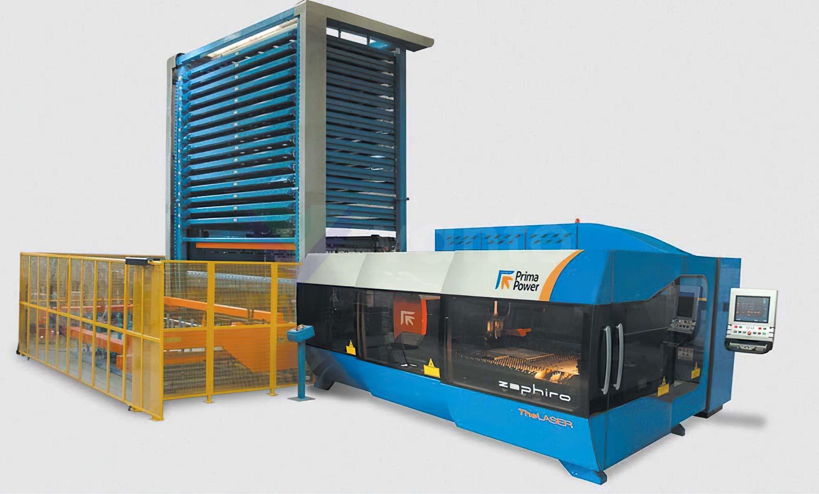 PRIMA INDUSTRIE ZAPHIRO 1530 Laser cutting machine (CO2) (2010) id10574