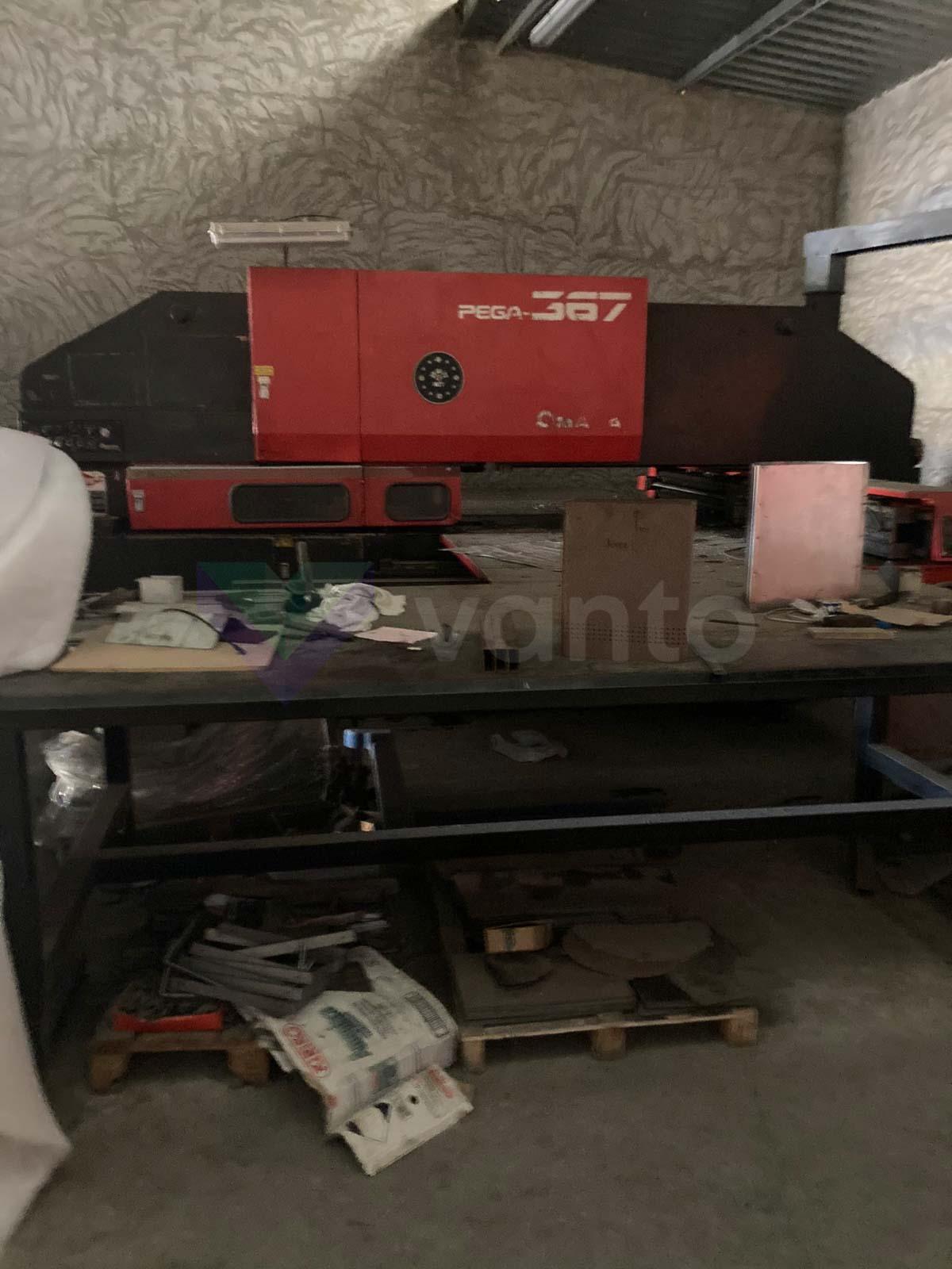 AMADA PEGA 367 CNC punching machine (1999) id10582