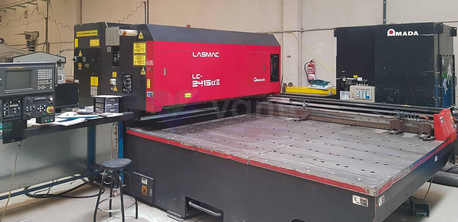 AMADA LC 2415 ALPHA II Laser cutting machine (CO2) (1998) id10591