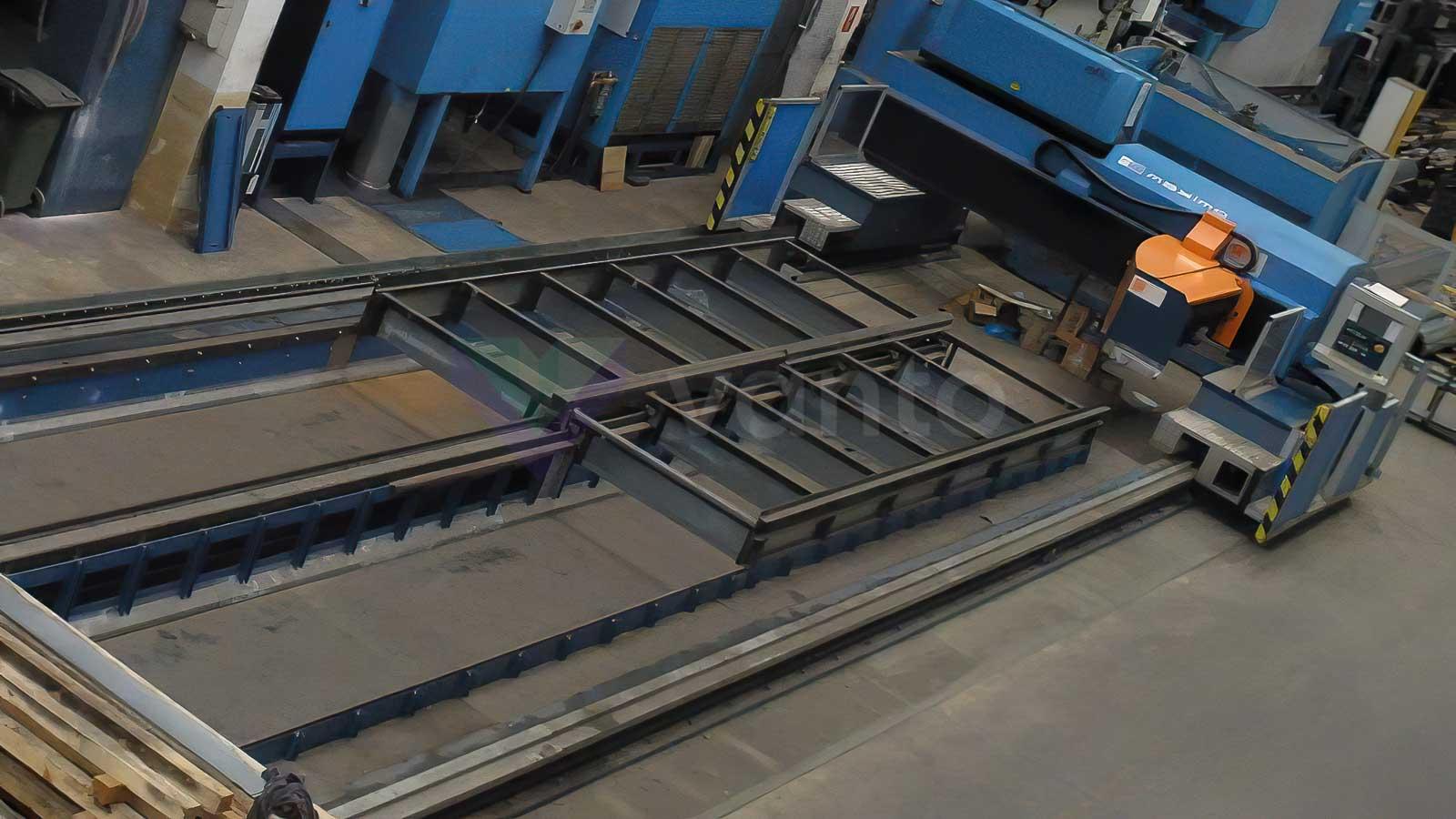 Laserový řezací stroj (CO2) PRIMA INDUSTRIE MAXIMO (2008) id10593
