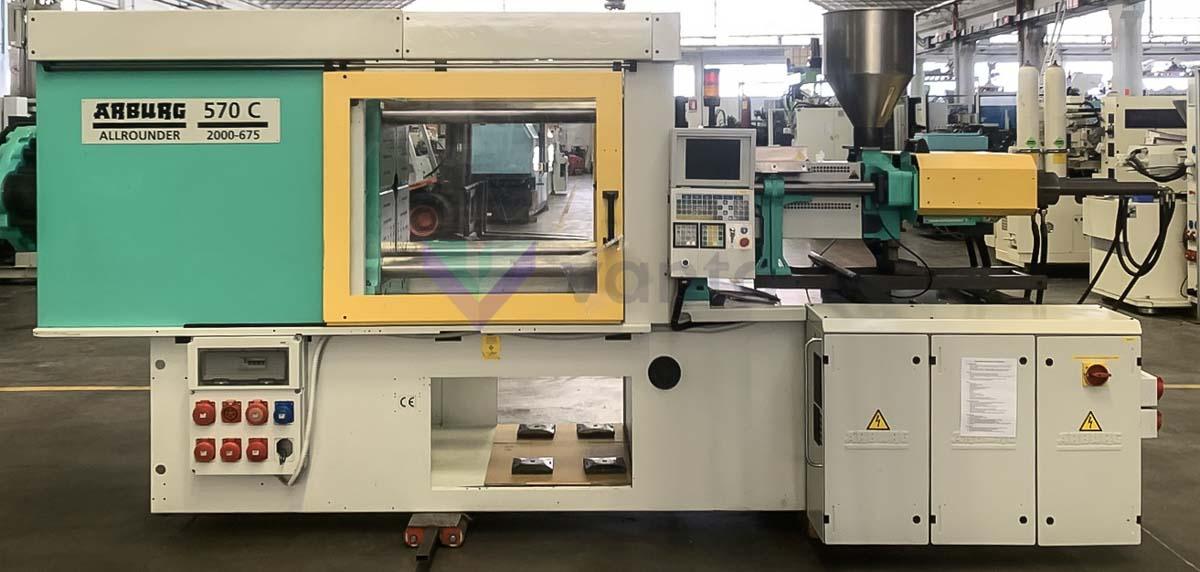 200t enjeksiyonu kalıplama makinesi ARBURG 570C 2000-675 (1999) id10601